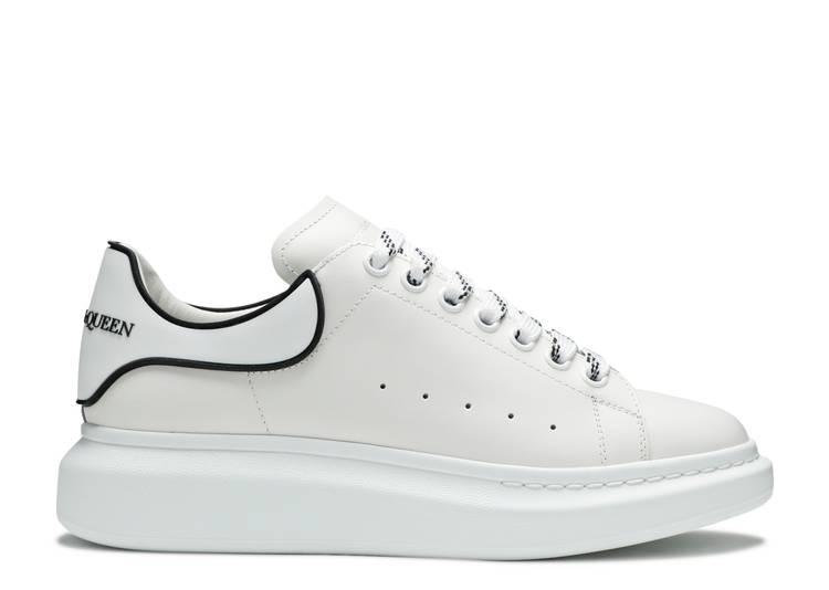 Alexander McQueen Oversized Sneaker 'White Black'