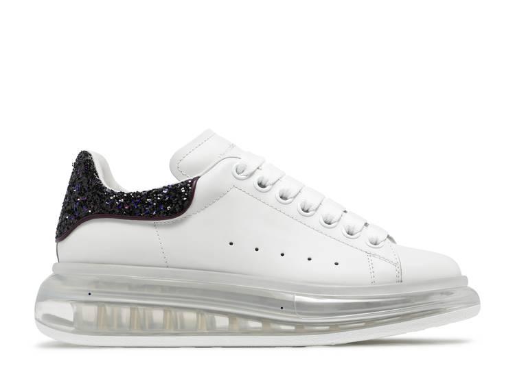 Alexander McQueen Wmns Oversized Sneaker 'Transparent - White Amethyst'