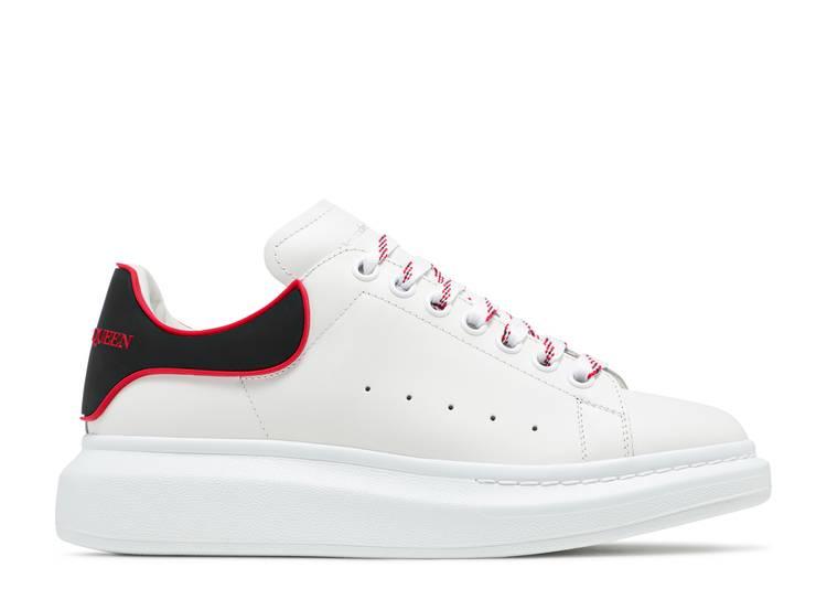 Alexander McQueen Oversized Sneaker 'White Lust Red'