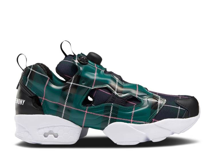 Opening Ceremony x InstaPump Fury OG 'Green Plaid'
