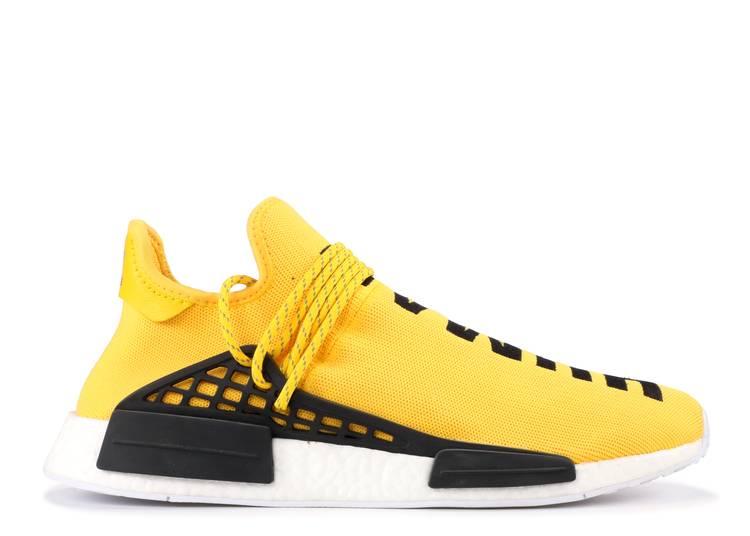 Pharrell x NMD Human Race 'Yellow' Sample