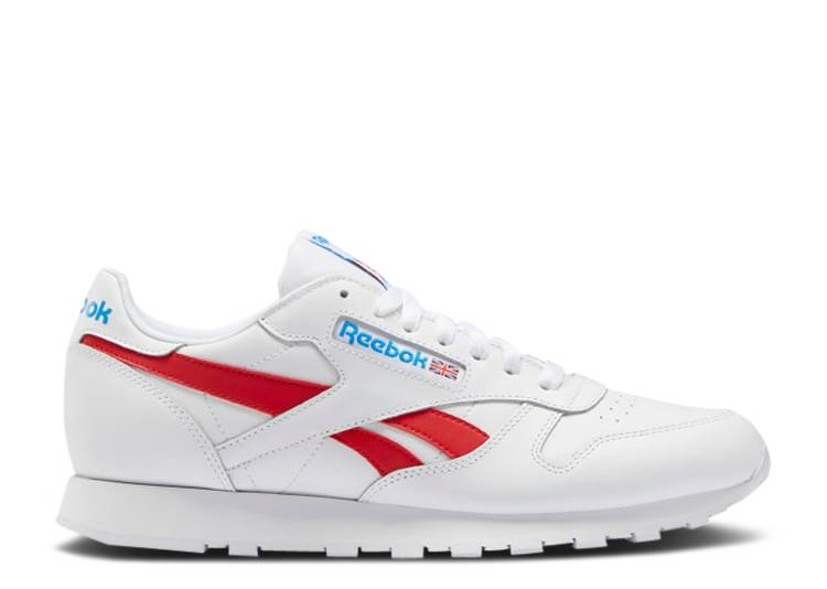 Classic Leather 'White Vector Red'