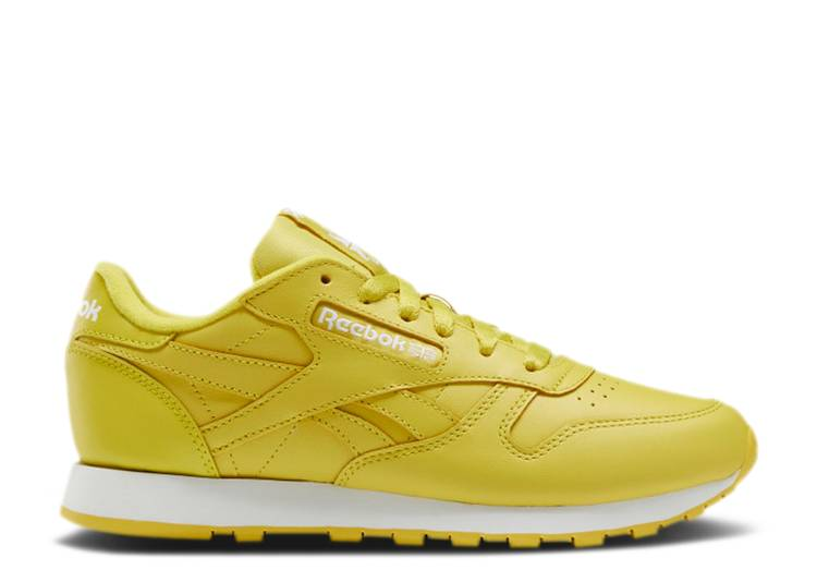 Wmns Classic Leather 'Utility Yellow'