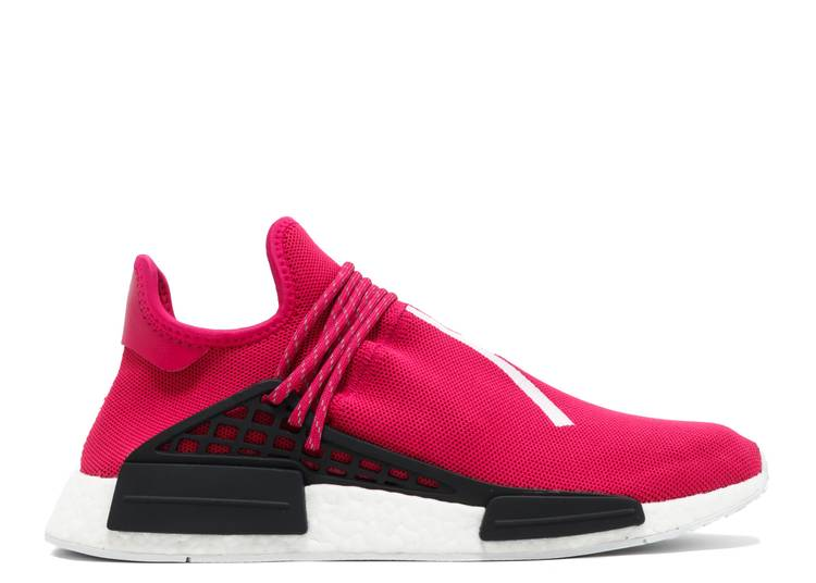 Pharrell x NMD Human Race 'Shock Pink' Sample