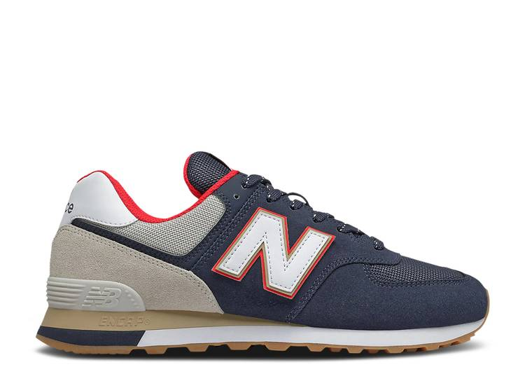 574 'Navy Energy Red'