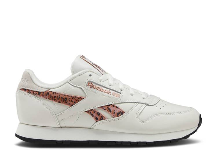 Wmns Classic Leather 'Cheetah Side Print'