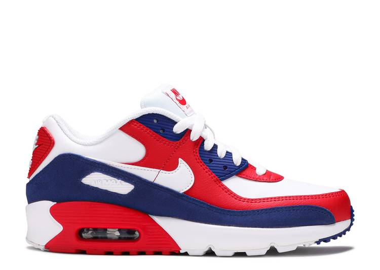 Air Max 90 Leather GS 'USA'