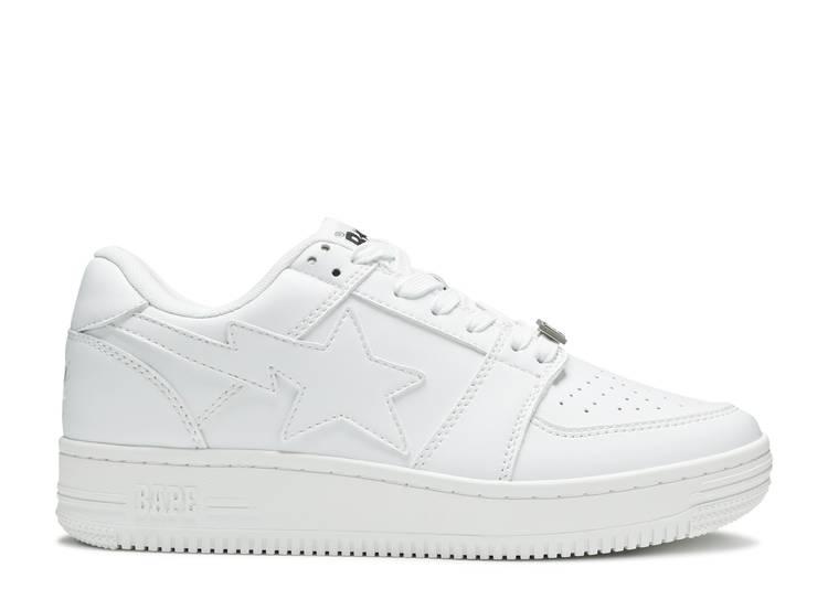 Bapesta Low 'White'