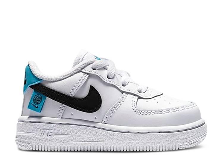 Force 1 TD 'Worldwide' - Nike - CN8541 100 - white/blue fury/black ...