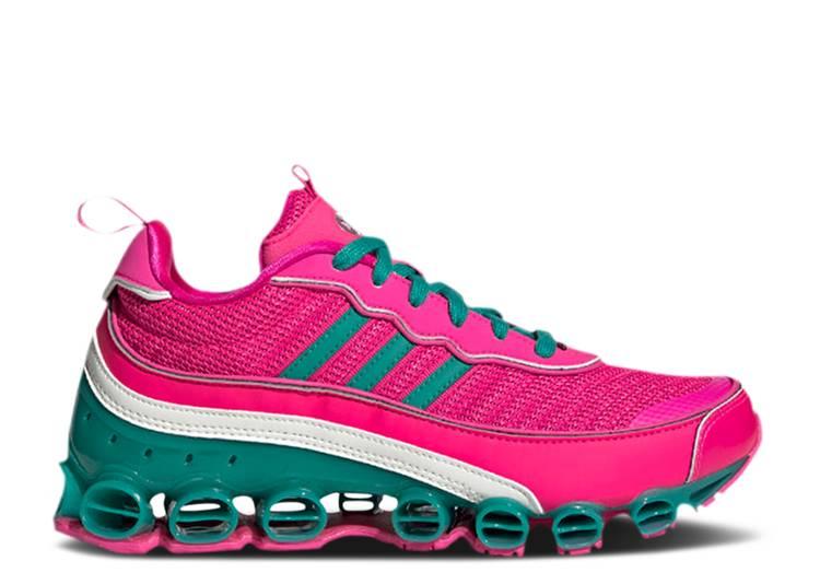 Wmns Microbounce T1 'Shock Pink Green'