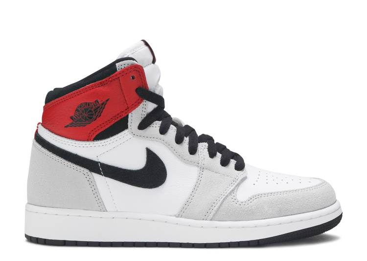 Air Jordan 1 Retro High OG GS 'Light Smoke Grey'