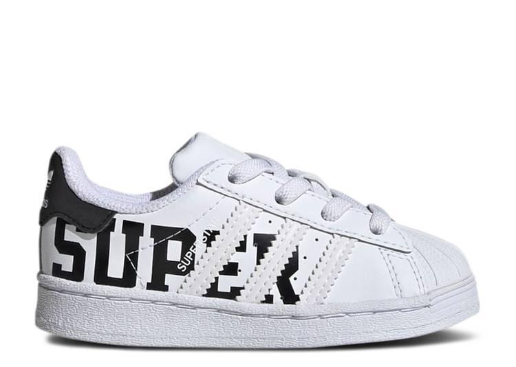 Superstar Infant 'XXL Print - Cloud White'
