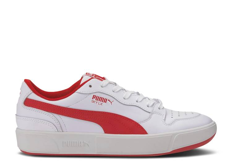 Sky LX Low 'White High Risk Red'