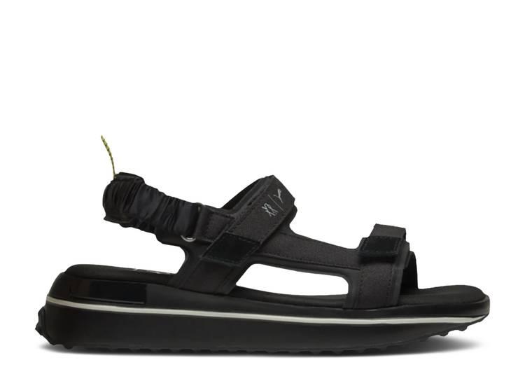 Liu Wen x Wmns Future Rider Sandals 'Fluorescent Braid - Black'