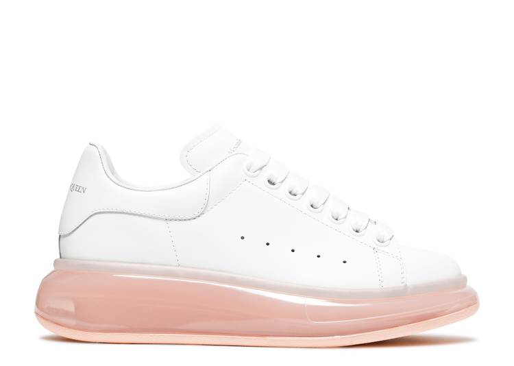 Alexander McQueen Wmns Oversized Sneaker 'White Rose Gold'