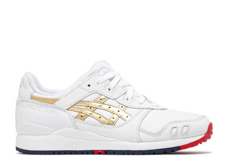 Kith x Gel Lyte 3 'Tokyo Trio Pack - Super Gold'
