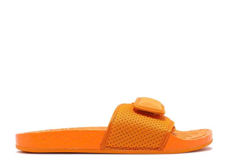 Pharrell x Boost Slides 'Bright Orange'