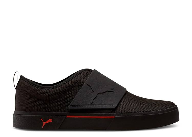 El Rey II Slip-On 'Black Risk Red'