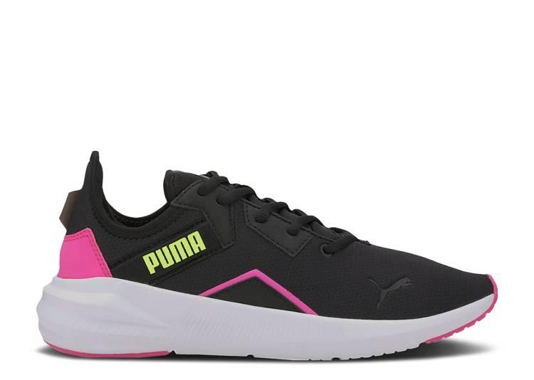 Wmns Platinum 'Black Luminous Pink'