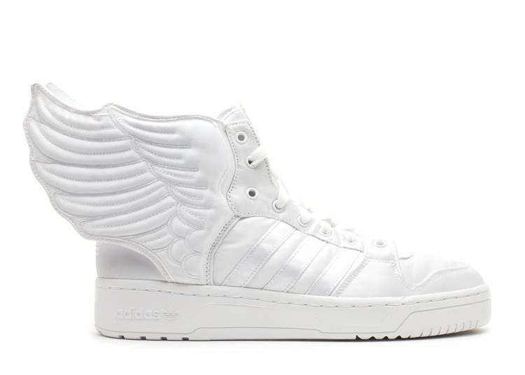 Jeremy Scott x 2NE1 x Wings 2.0 'Triple White'