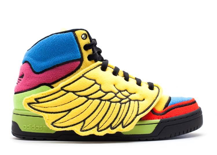 Js Wings 'Jeremy Scott Rainbow'