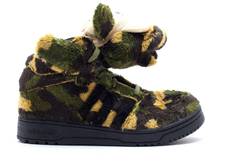 Jeremy Scott Bear 1 J 'Camo'