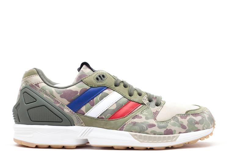 A Bathing Ape x Undefeated x ZX 5000 Boost 'Camo'