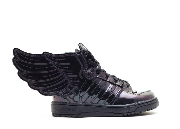 Jeremy Scott x Wings 2.0 I 'Triple Black'