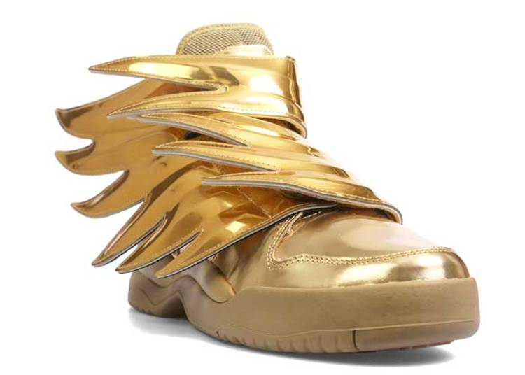 Jeremy Scott X Wings 3 0 Solid Gold Adidas B35651 Gold Metallic Flight Club