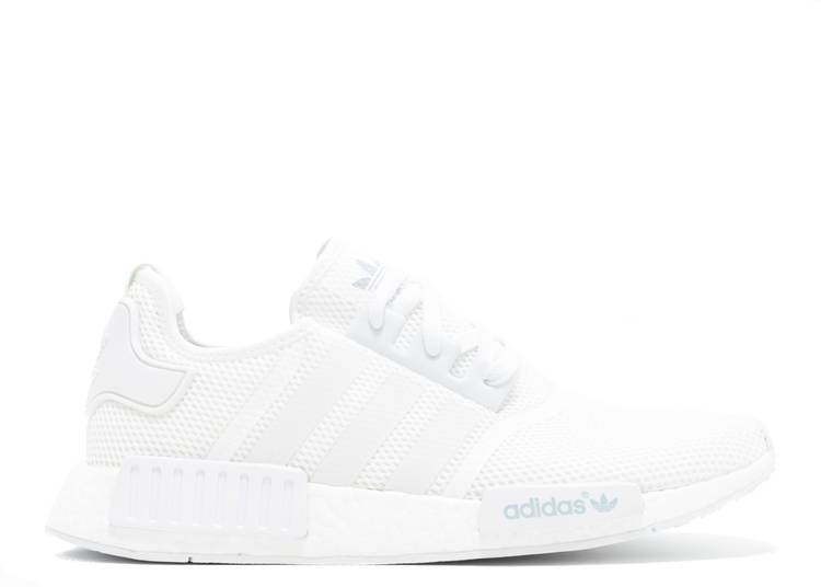 NMD_R1 'All White'