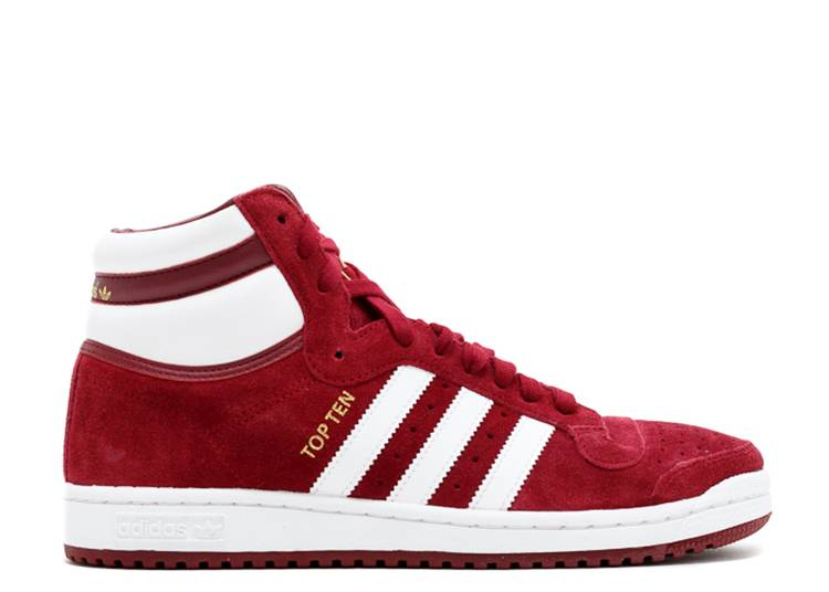 Top Ten Hi 'Collegiate Burgundy'