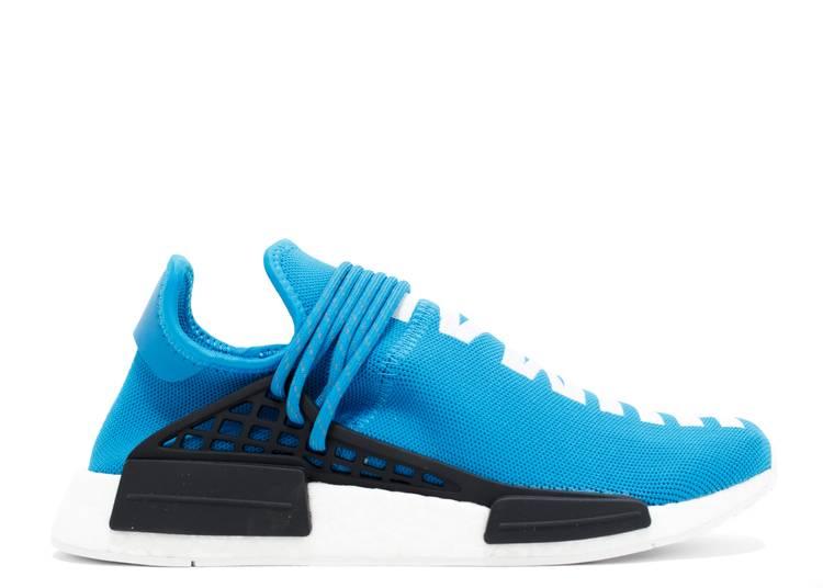 Pharrell X Nmd Human Race Blue Adidas Bb0618 Blue White