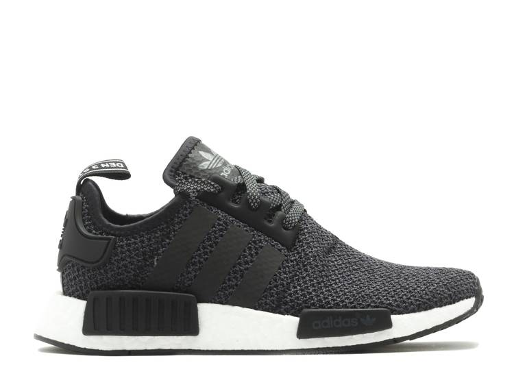 Champs Sports x NMD_R1 J 'Black White'
