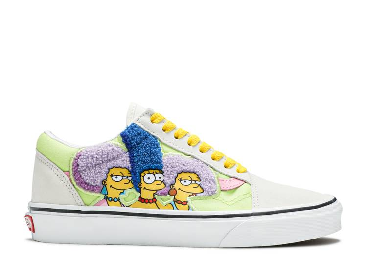 The Simpsons x Old Skool 'The Bouviers'