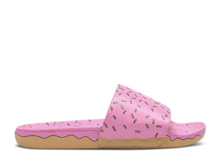 The Simpsons x Slide-Onohnut ' 'Pink D'OH!-Nut'