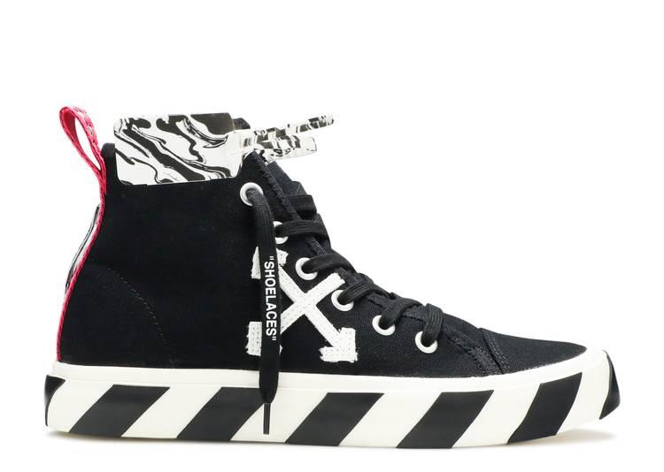 Off-White Vulc Sneaker Mid 'Black White'
