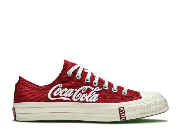 Kith x Coca-Cola x Chuck 70 Low 'Red'