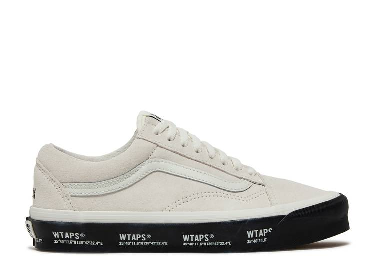 WTAPS x Old Skool LX 'White Black'