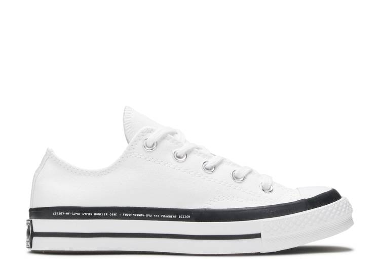 Fragment Design x Moncler x Chuck 70 Low 'White'