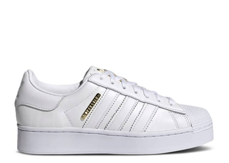 Wmns Superstar Bold 'White Gold'