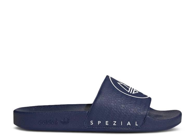 Adilette SPZL Slides 'Dark Blue'