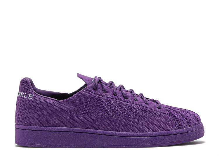 Pharrell x Superstar Primeknit 'Purple'
