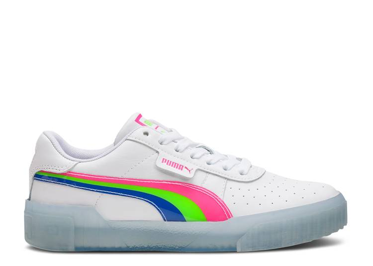 Wmns Cali 'Neon Iced - Pink Dazzling Blue'