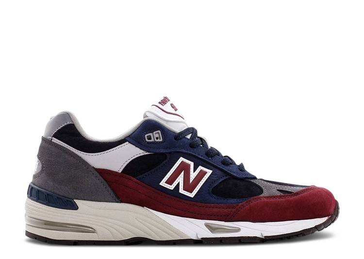 991 Made in England 'Navy Burgundy'
