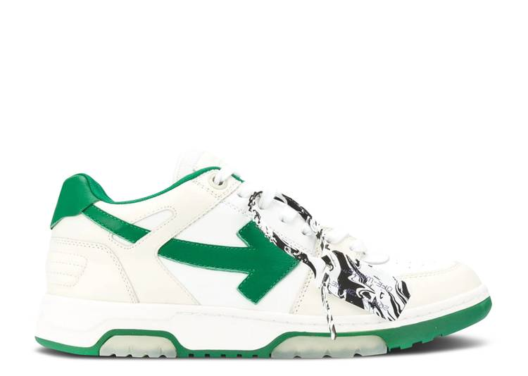Off-White Out of Office Low 'White Green'