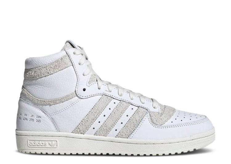 Top Ten RB 'Size Tag Pack - Crystal Off White'
