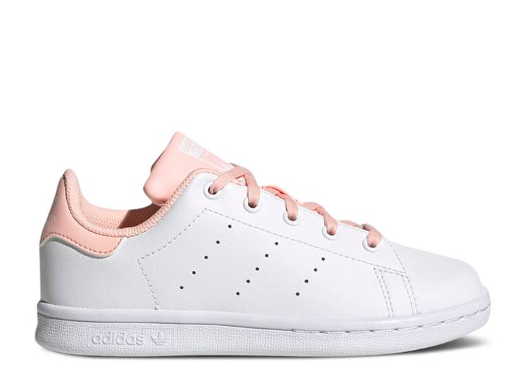 Stan Smith J 'White Hazel Coral'