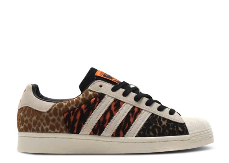 atmos x Superstar 'Crazy Animal'