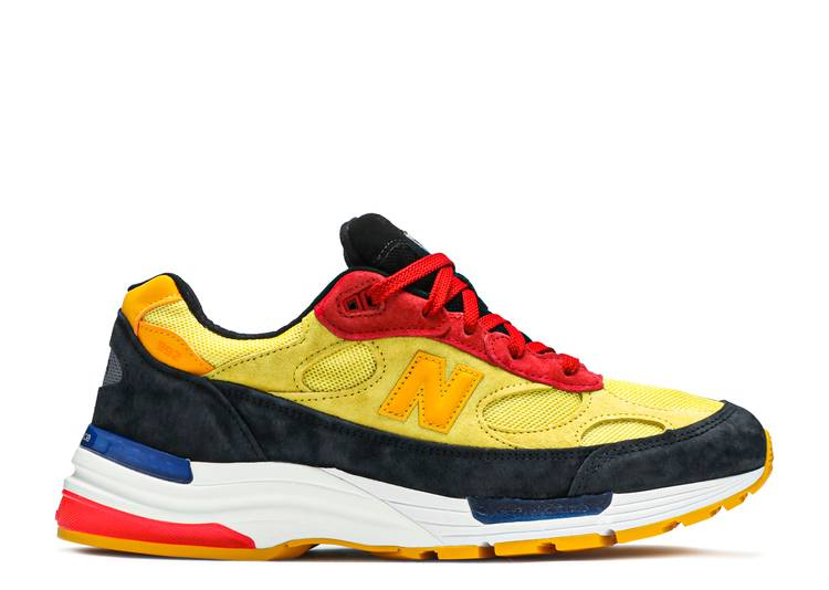 992 Made In USA 'Atomic Yellow Red'