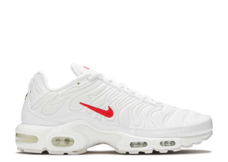 Supreme x Air Max Plus TN 'White'